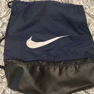 Nike Gym Sack - Blue/Black - Never used